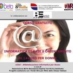 Aid@ - Alfabetizzazione informatica e orientamento al lavoro per donne