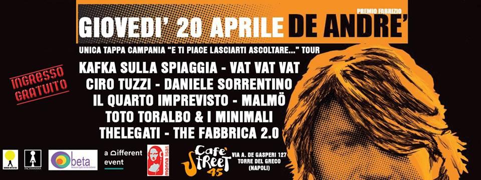 premio De Andrè tappa Tore Del Greco